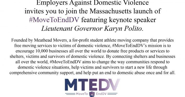 #MoveToEndDV Launch Event!